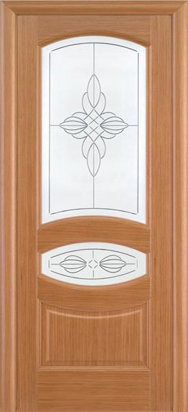 Ювелия орех стекло с гравировкой